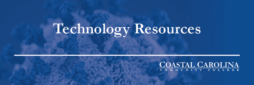 Technology Resources with Covid Virus in the Background