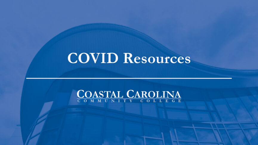 Title Banner with the Text COVID Resources