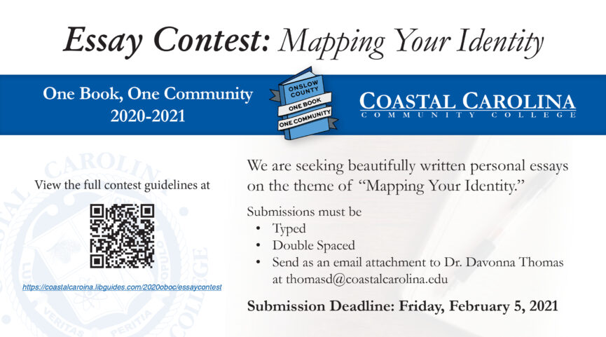Flyer for the Essay Contest