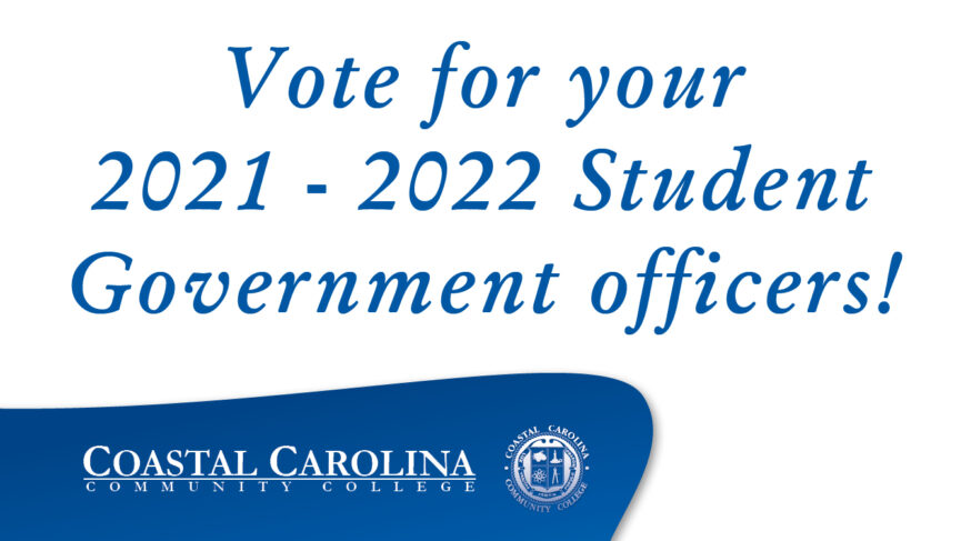 Vote for your 2021 - 2022 Student Government officers!
