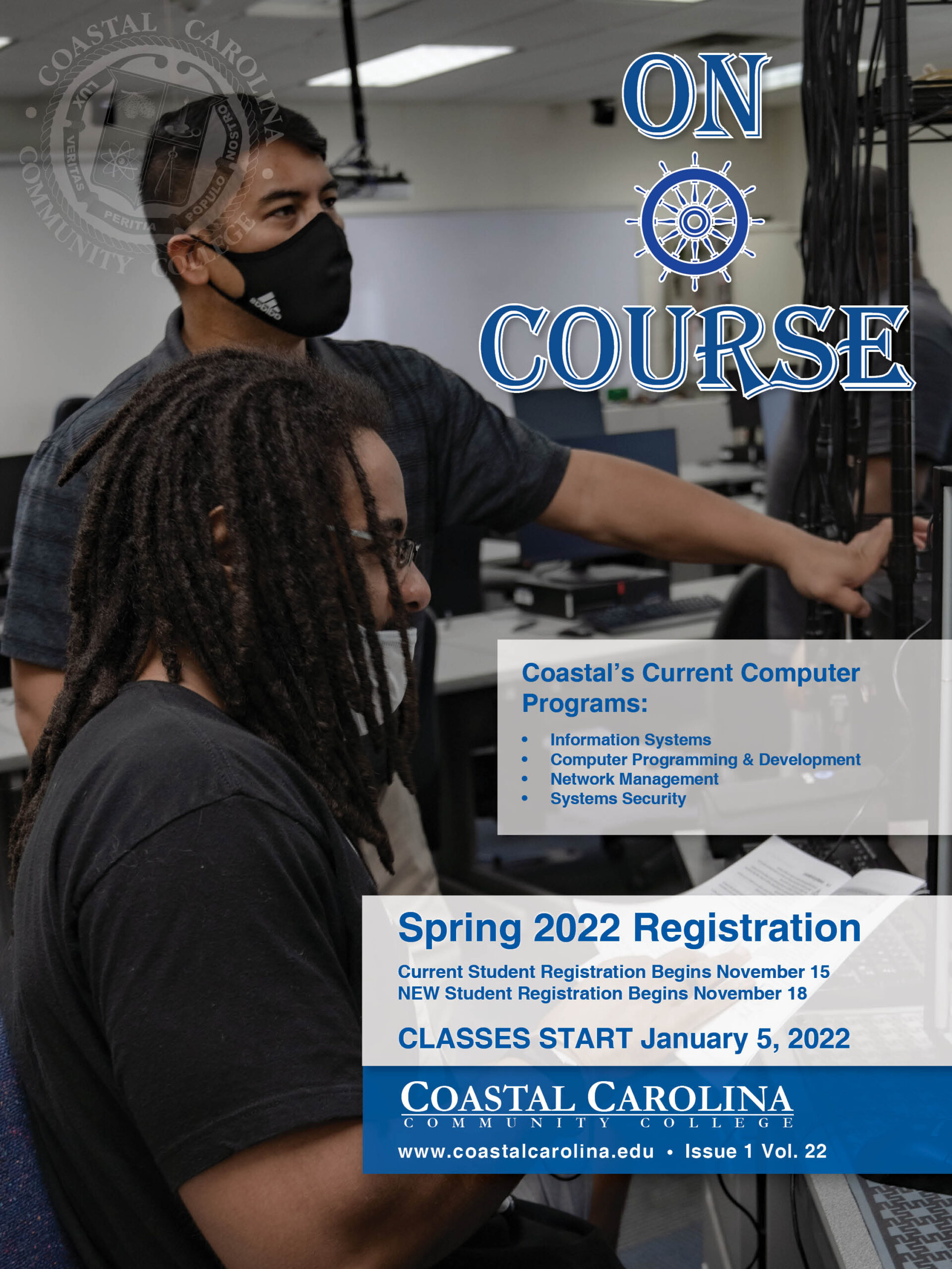 On Course Coastal's Current Computer Programs